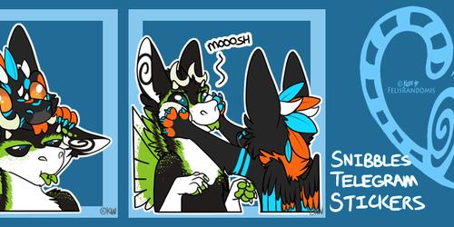 Snibbles Telegram Stickers 3