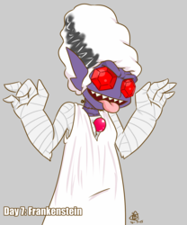 30 Day Halloween Costume Challenge - (Bride of) Frankenstein