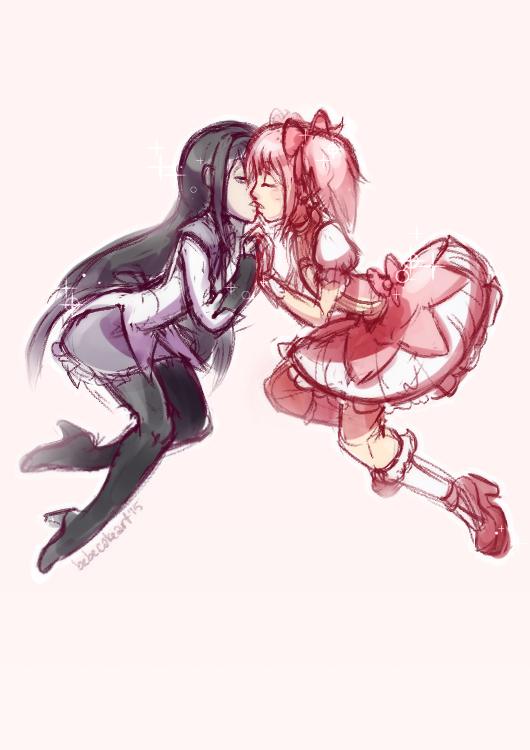 floating kisses