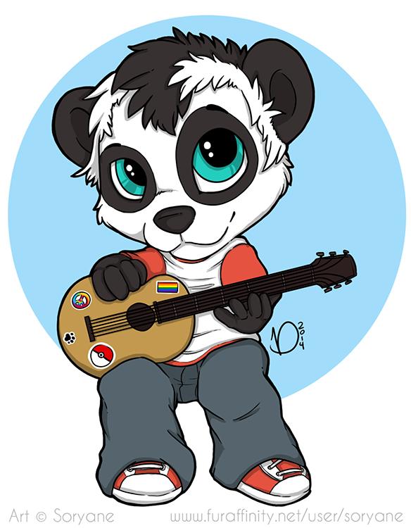 Kai Panda - Chibi