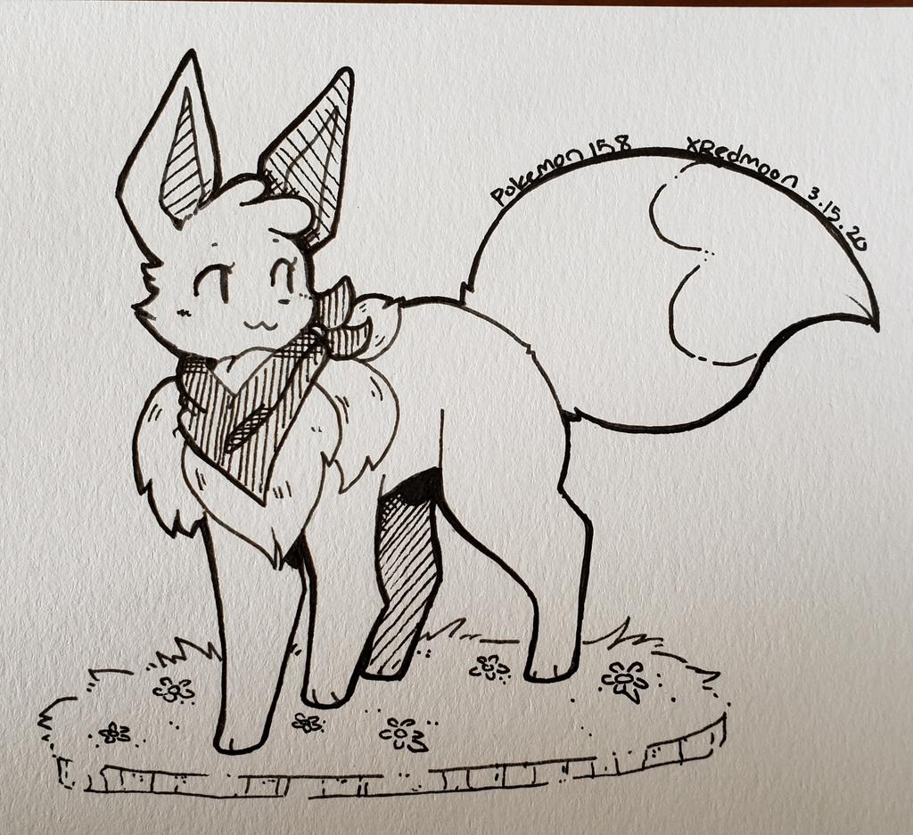 [Art Trade] Shine the Shiny Eevee!