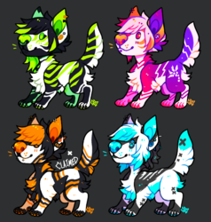 [CLOSED] Mini Emo Dogs Batch 2