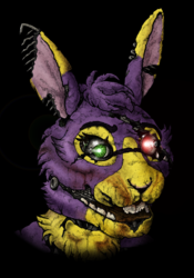 FNAF-styled Chargan Commission