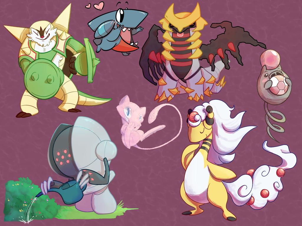Various Pokes