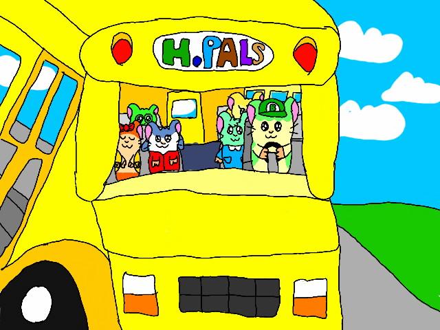 Family Bus Ride