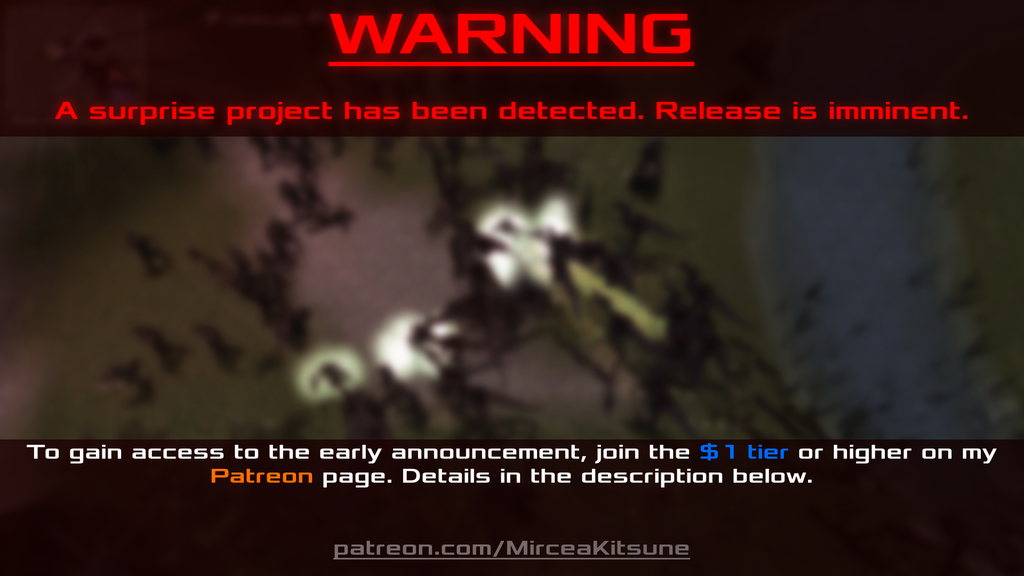 Surprise Project Announcement