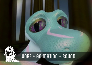 Cerceti hypnosis and vore POV (Animation by Ante)
