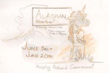 Travel Postcards: Alaska Edition