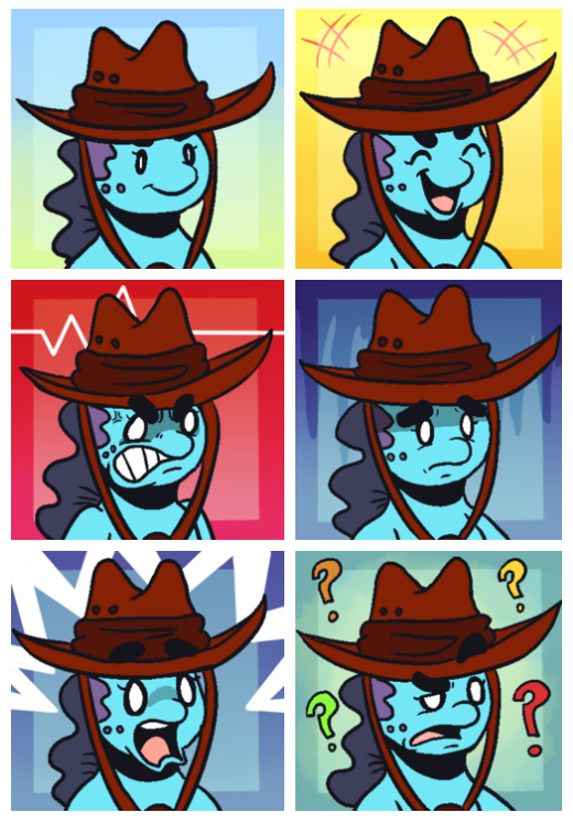 Commission - Astrid RP Icons