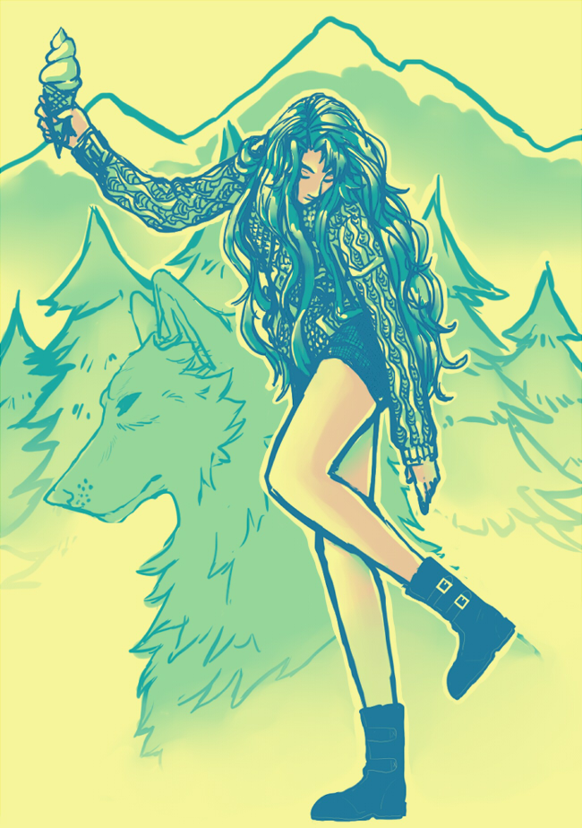 Most recent image: Forest in the Wolf