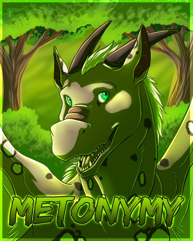 Metonymy badge