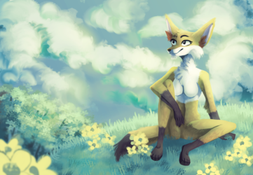 digital painting commission for BxrBlu on dA