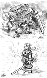 Doodle Dump 05 - Sketchy Chrono
