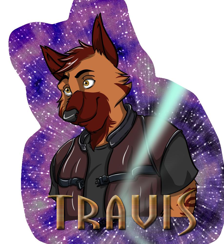 Travis - Farscape Badge
