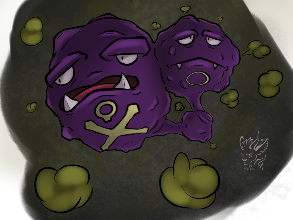 Most recent image: Weezing ^^