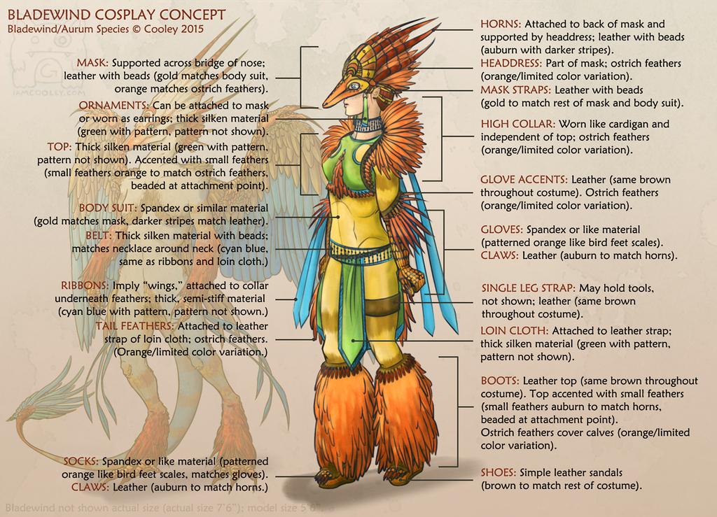 Bladewind Costume Concept
