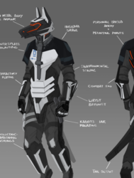 +700 Terran federal armour