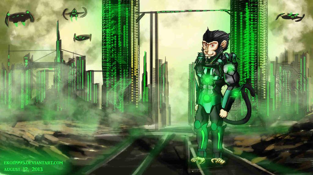 Ekoi's Sci-Fi Armor