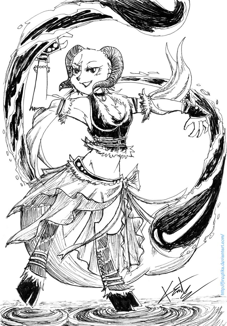 Dancing Capricorn