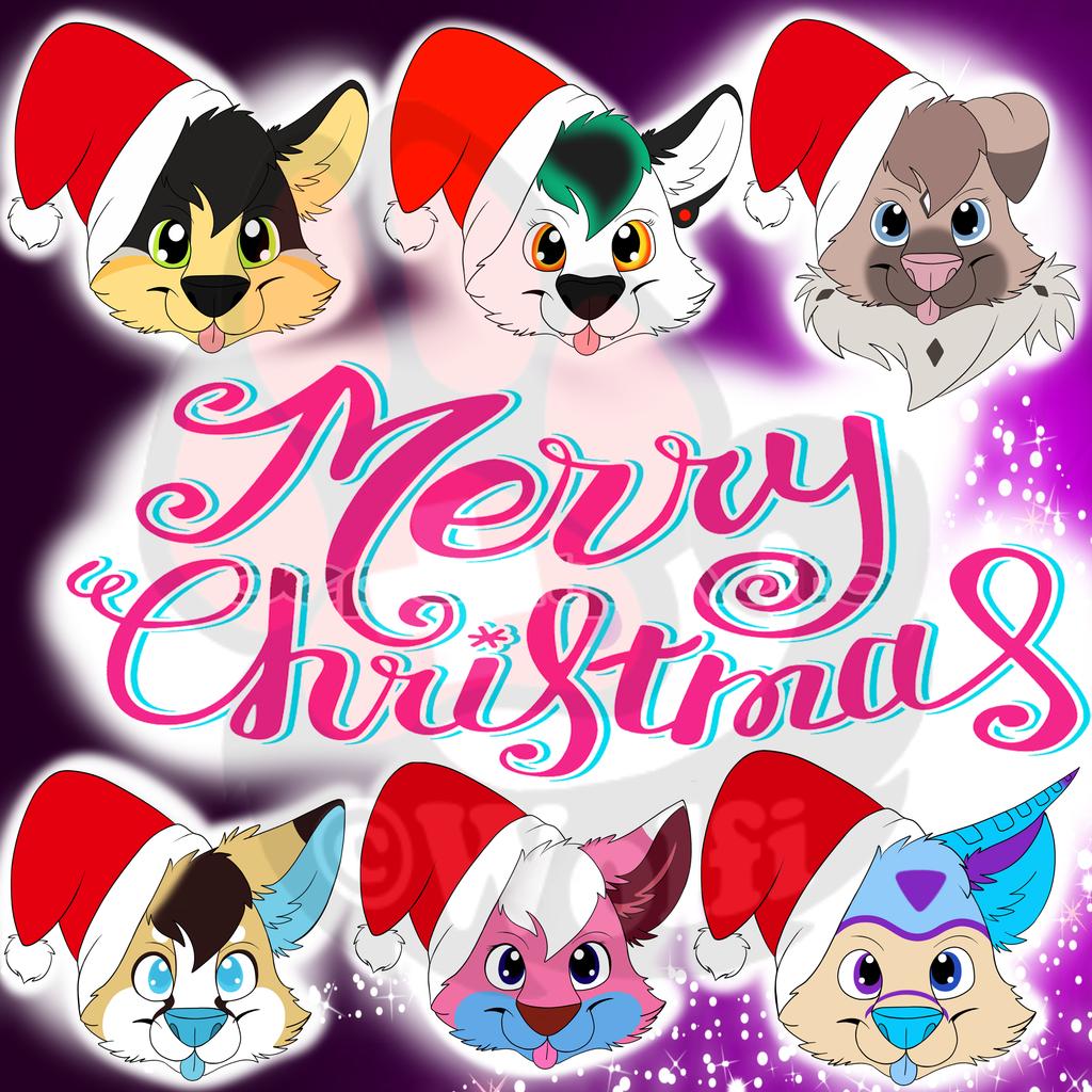 [Freebies/Comission] Christmas Ych