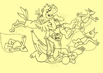 Draco Rex Welcomes Banjo Kazooie