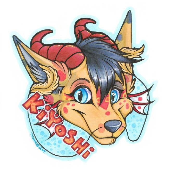 Kiyoshi Badge (Commission)