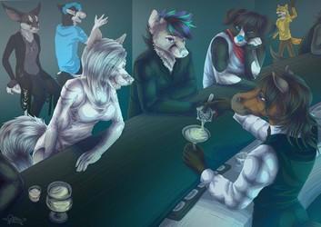 Bar Night ^^