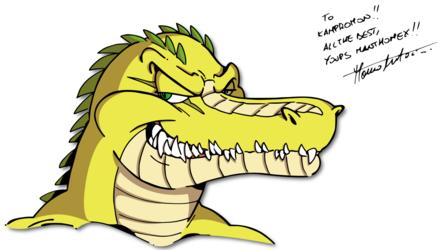 Smile of a Crocodile