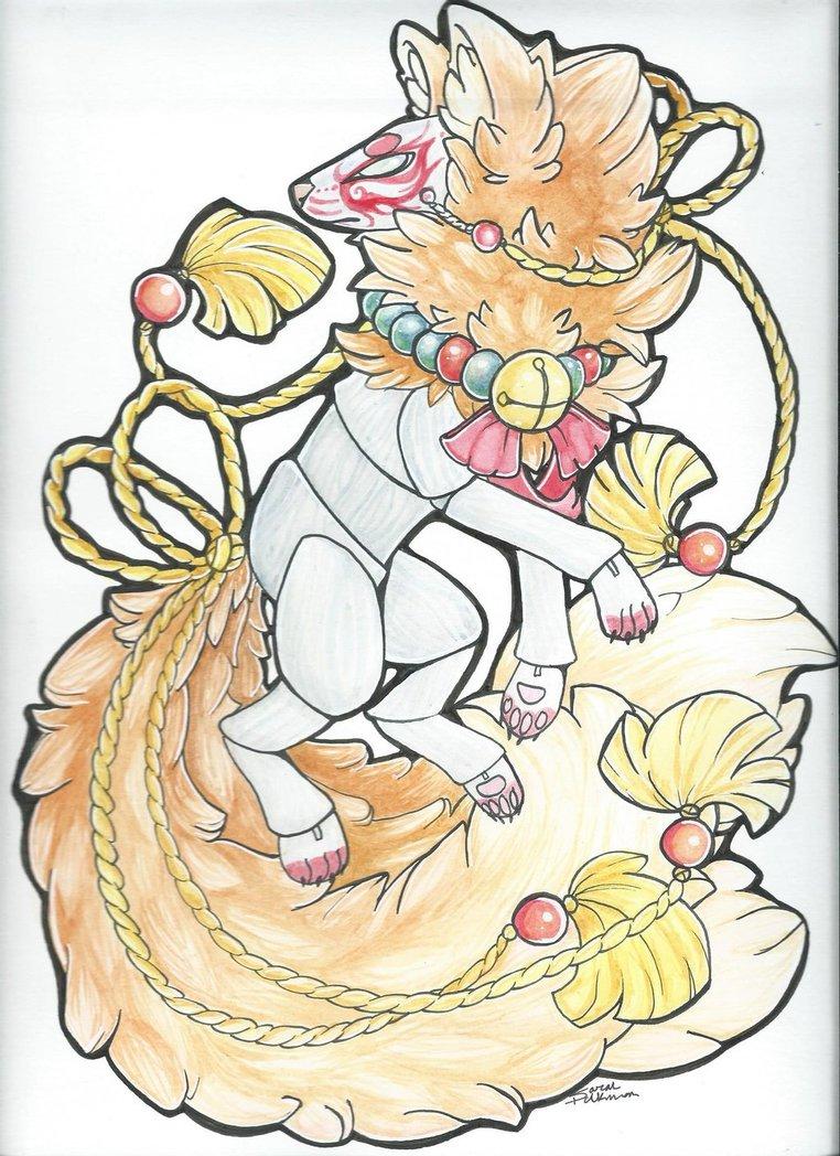 Fox Spirit design