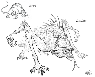Spiked Creature Redesign
