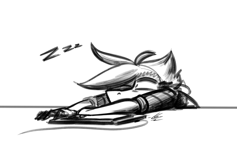 Most recent image: Sleepy borb