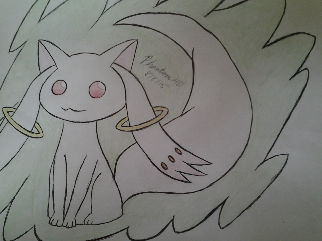 Most recent image: Kyubey!