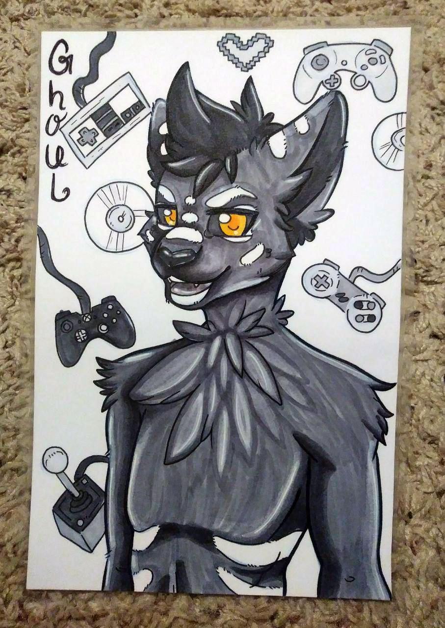 Ghoul Door Card