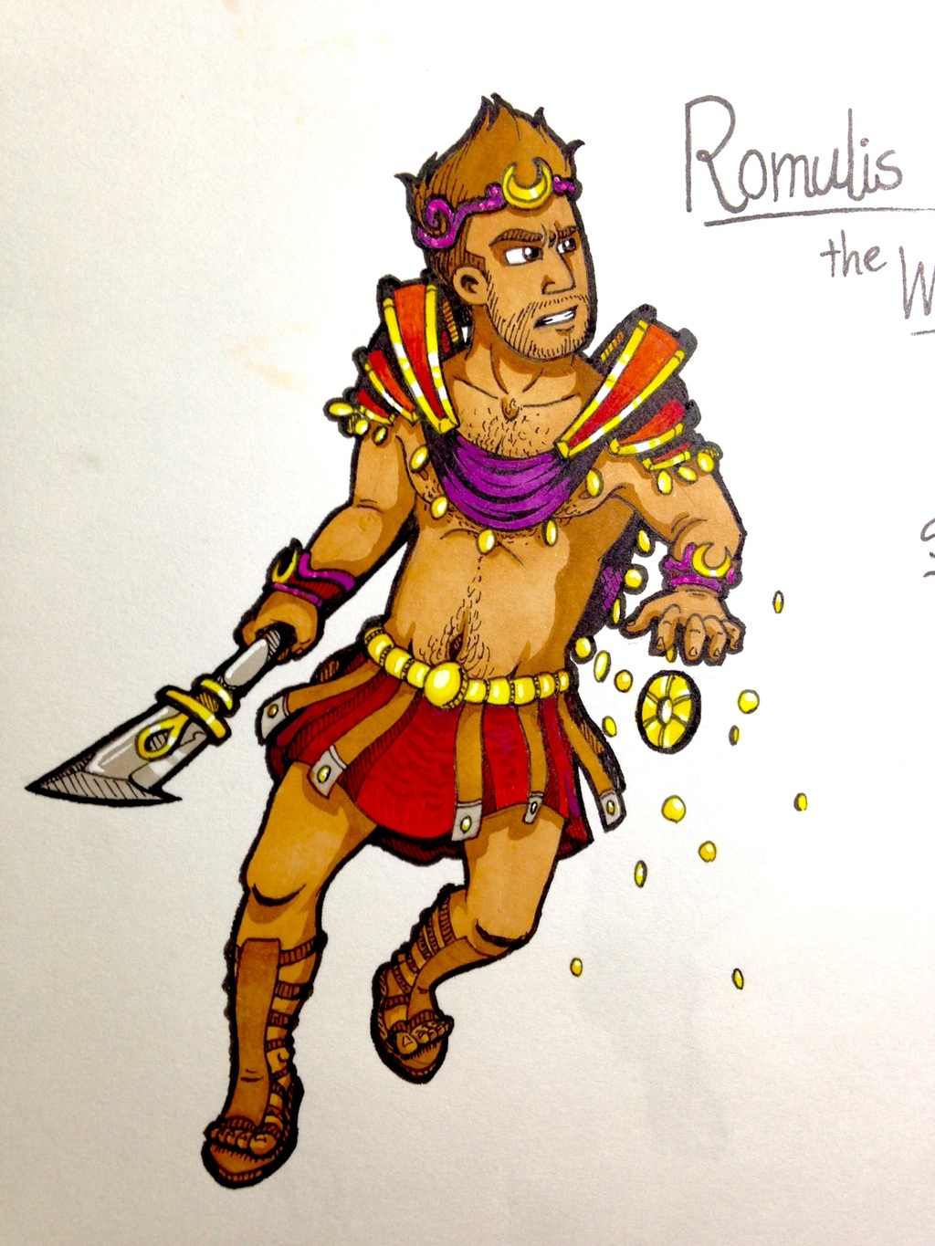 Most recent image: Redo - Romulis the Wealth mage