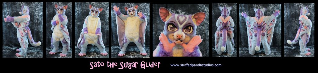 Sato the sugar glider full costume