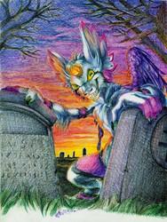 :Commission: Cemetery Imp