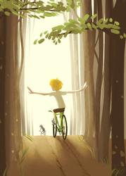 I can ride my bike