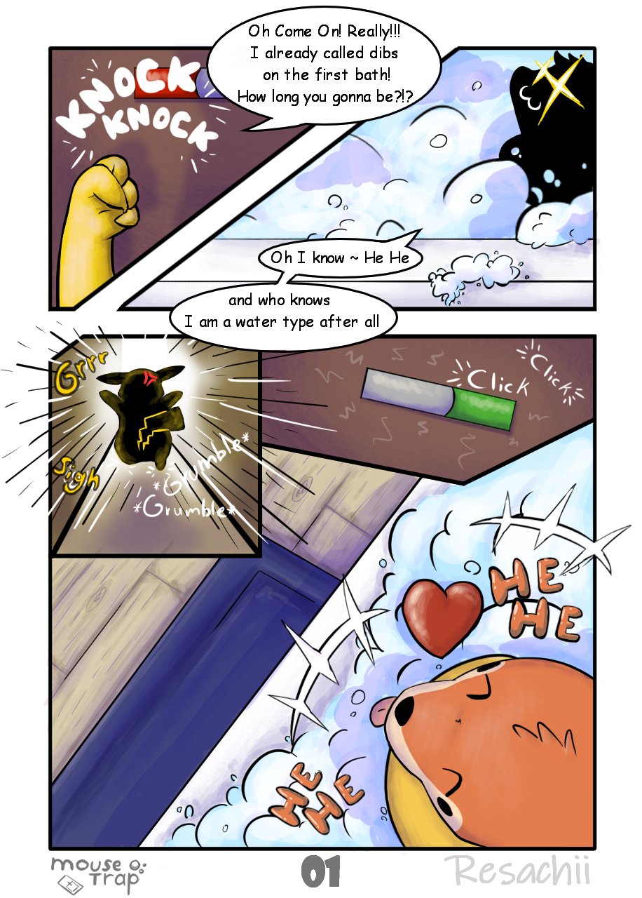 Mouse Trap Page 1