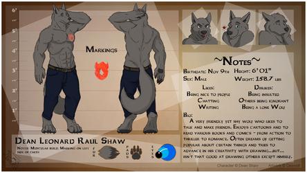 [CM - Dean Shaw] Detailed Character Sheet