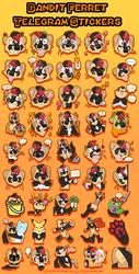 Bandit Telegram Stickers