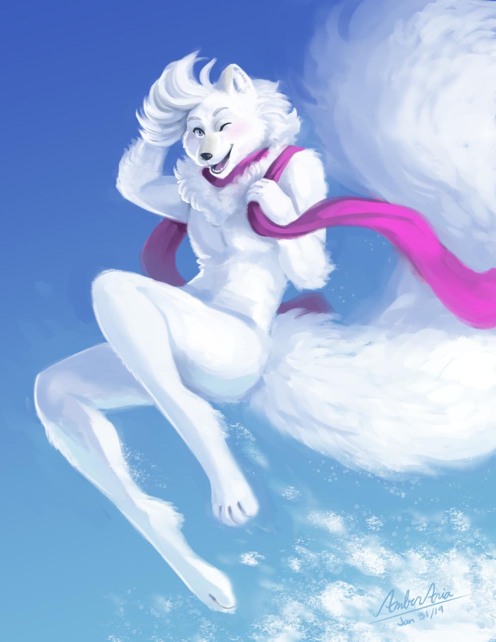 Shrubie's Snowy Leap