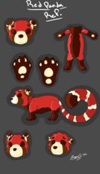 Red Panda Feral Ref.