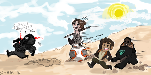 STARWARS hunting party