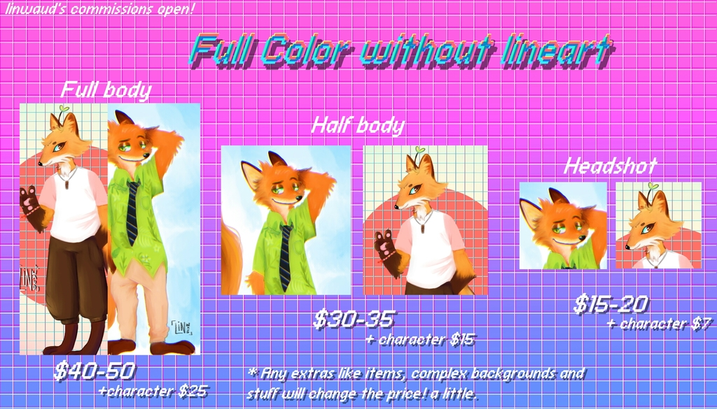 PayPal commissions open!!!