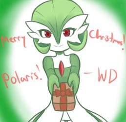 Gardevoir Christmas Gift