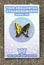 Tiger Swallowtail Gynandromorph Pins are here!!