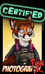 Certified PhotograFOX (by Mary Mouse)