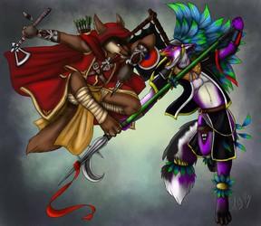 Phantom & Xepher (by Starvinartmajor)