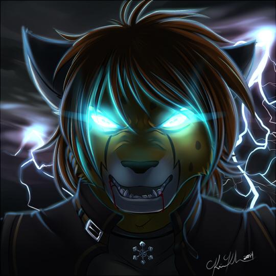 Icon Commission_Snow Cheetah