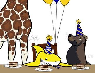 Birthday Tiramisu (Logan, Mendo, and Wind)